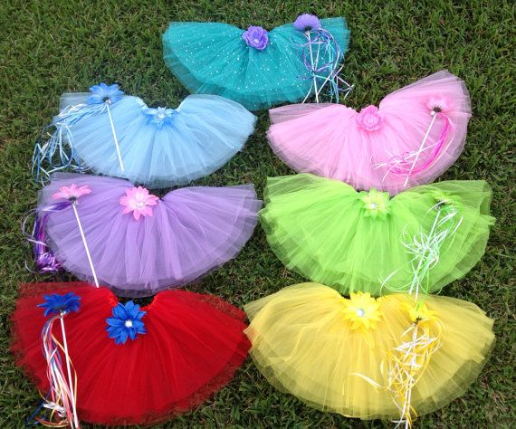 7 Disney Princess Tutus Princess Party Favors by partiesandfun, $82.00