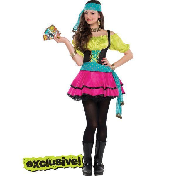 teen girls mystical gypsy costume halloween - Mystical Halloween Costumes