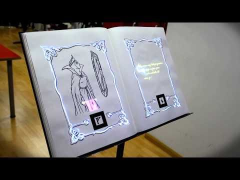 AR Magic Book - Los libros cobran vida .Se puede utilizar para animación a la lectura en educación primaria. #AR #LIBROS #EDUCACIÓN