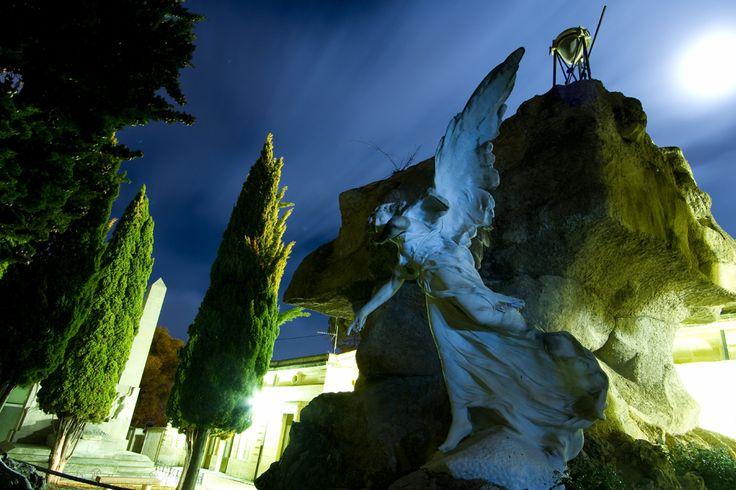 """A través del paseo """"Alcoy: la ciudad dormida"""" el visitante descubrirá las diferentes tipologías dentro del Cementerio. #Alcoy #Alcoi Ruta Europea de #Cementerios"""