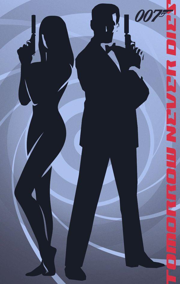 James bond casino royale silhouette