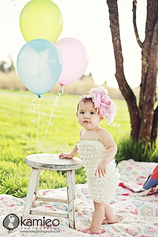 One Year Old Picture Ideas Outside