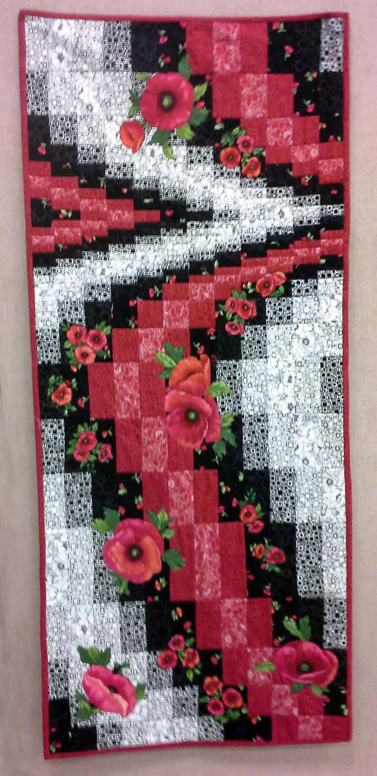 Bargello Quilted Runner                                                                                                                                                     More