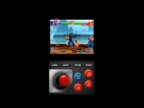 MAME android app King of fighters 98