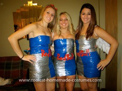 This Is A Jaeger Bomb Homemade Couple Costume The Red