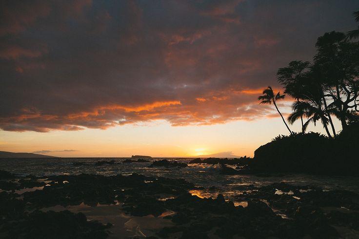 Maui, Hawaii Sunset - Josie Nicole Photography