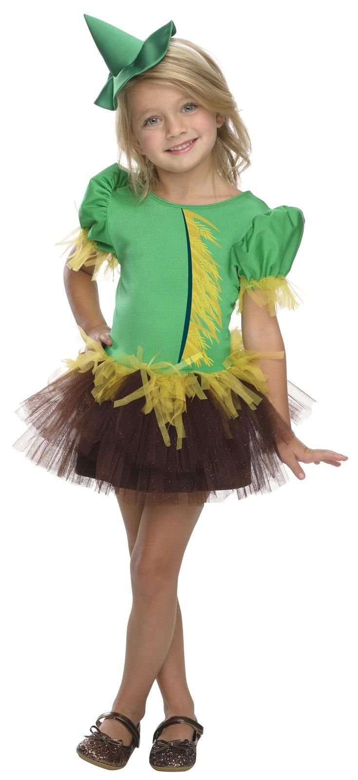 Wizard of Oz - Scarecrow Tutu Girls Costume from Buycostumes.com
