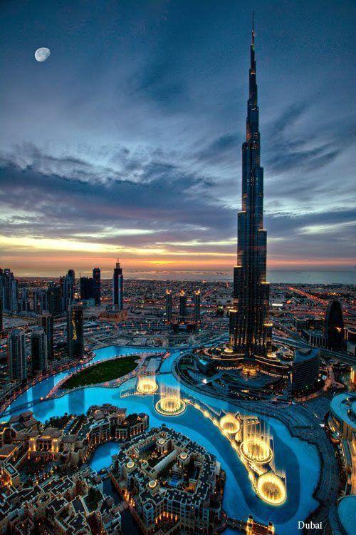 Evening in Dubai.
