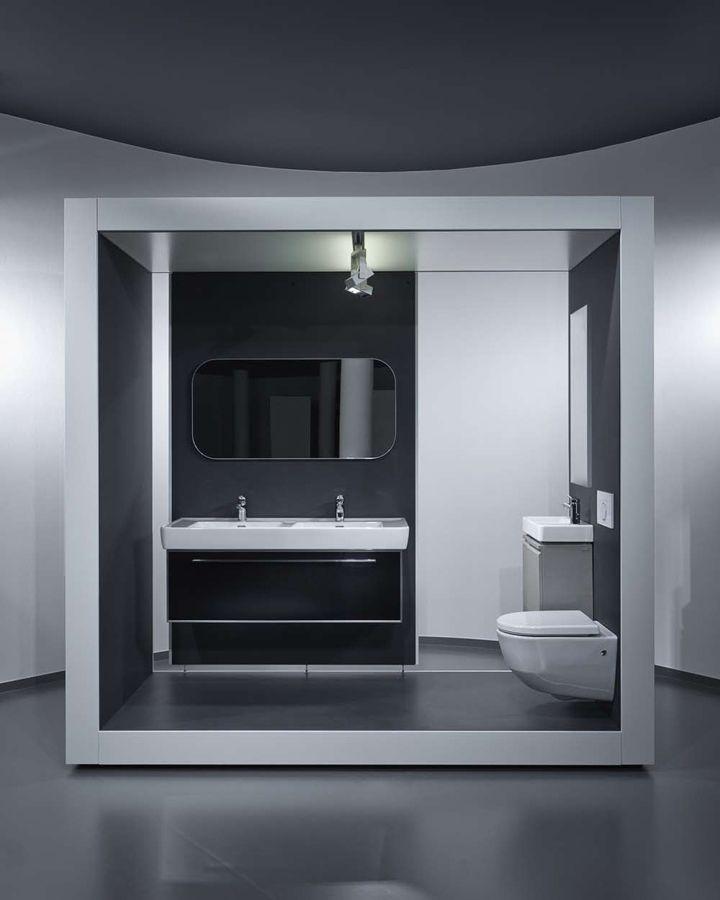 Bathroom Showroom Design Ideas: AquaMART Sanitary Showroom FLO Architects Budapest 30