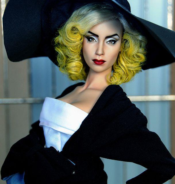 lady gaga repaint by ncruzdolls, via Flickr