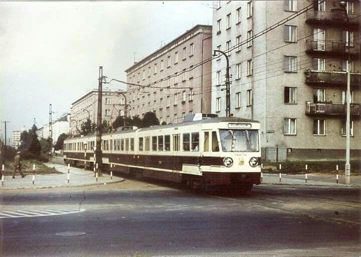 Szczęśliwicka, lata '70
