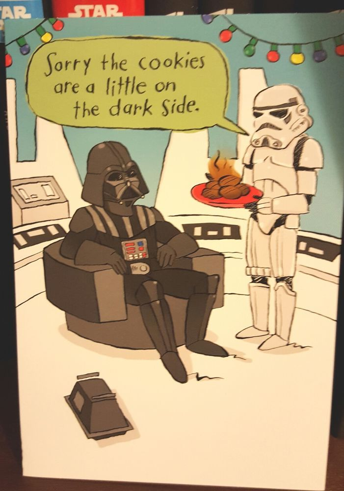 Star Wars Hallmark Christmas Card - Funny - The Static is Strong with you Chewie #Hallmark #Christmas