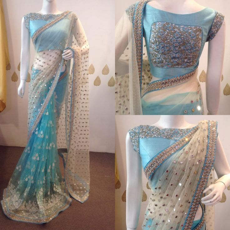 Pretty saree from the house of Mugdha!! For orders/enquiries:8142029190/9010906544 20 February 2017