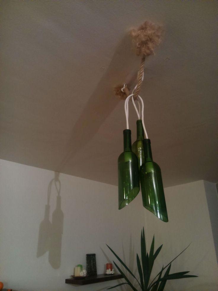 sklenena lampa.