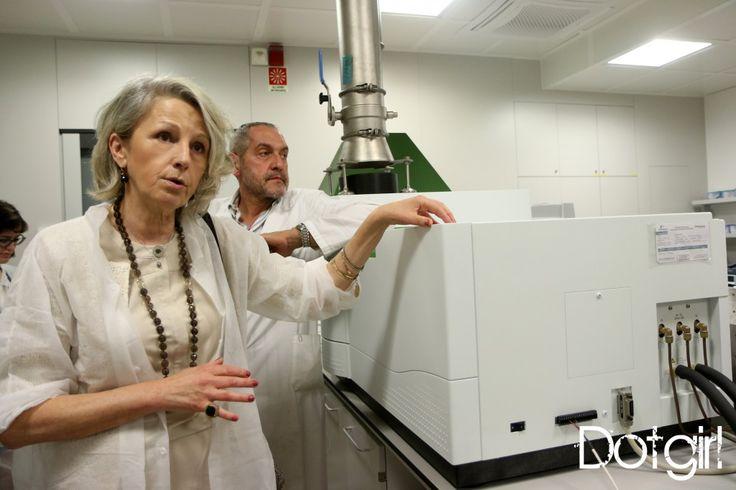 La Dr.ssa Villa spiega l'ICP, strumento che analizza nel dettaglio l'assenza di metalli pesanti nei nostri prodotti! #lerbolarioexperience