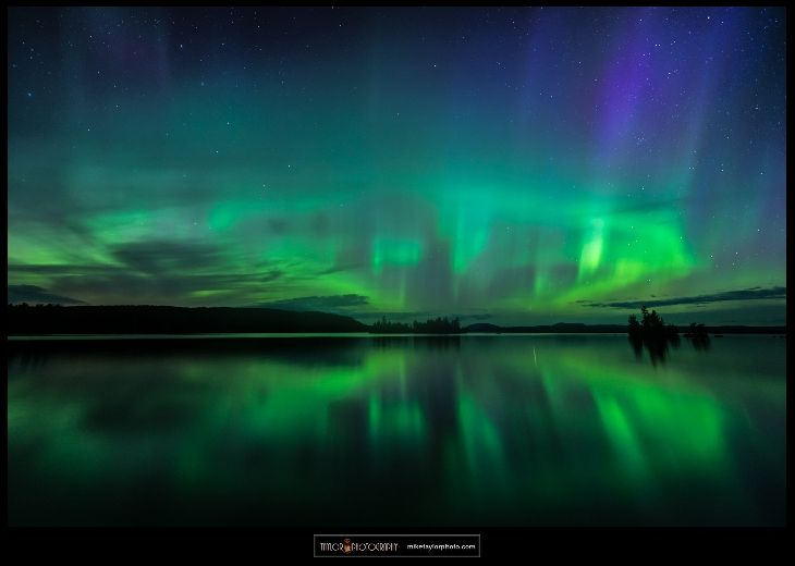 Aurora - Moosehead Lake, Maine, USA