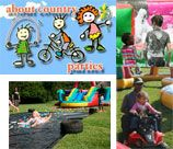 About Country Parties - Muldersdrift is all about having your party outdoors, on the farm, in the country. We have a wonderfully huge amount of space to play in, with a whole variety of activities available.