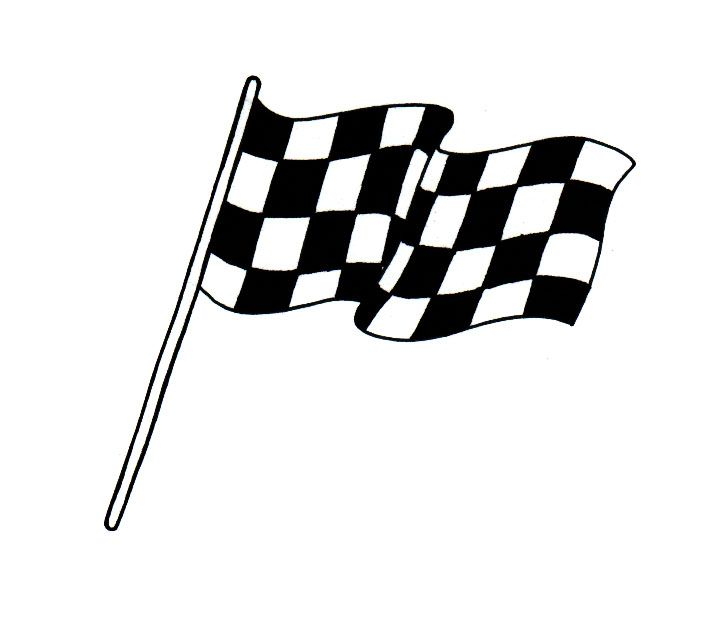 checkered flag coloring pages - photo#39