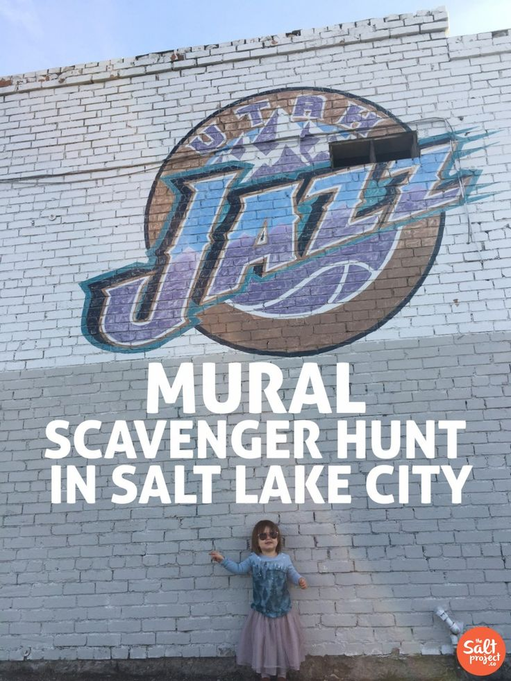 10 MORE Salt Lake City Wall Murals | The Salt Project | Things to do in Utah with kids