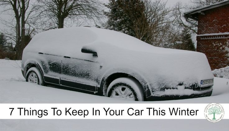 here are 7 things you should keep in your car in winter pinterest to be what would and the. Black Bedroom Furniture Sets. Home Design Ideas