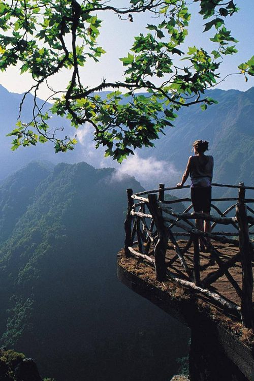Madeira, Portugal. A wonderful quiet place to marvel the beauty of God's handy-work.