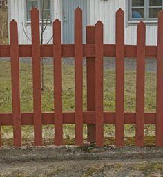 Gammaldags staket