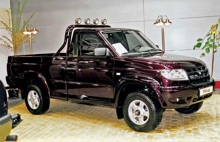 UAZ Pickup — подарок для настоящих мужчин