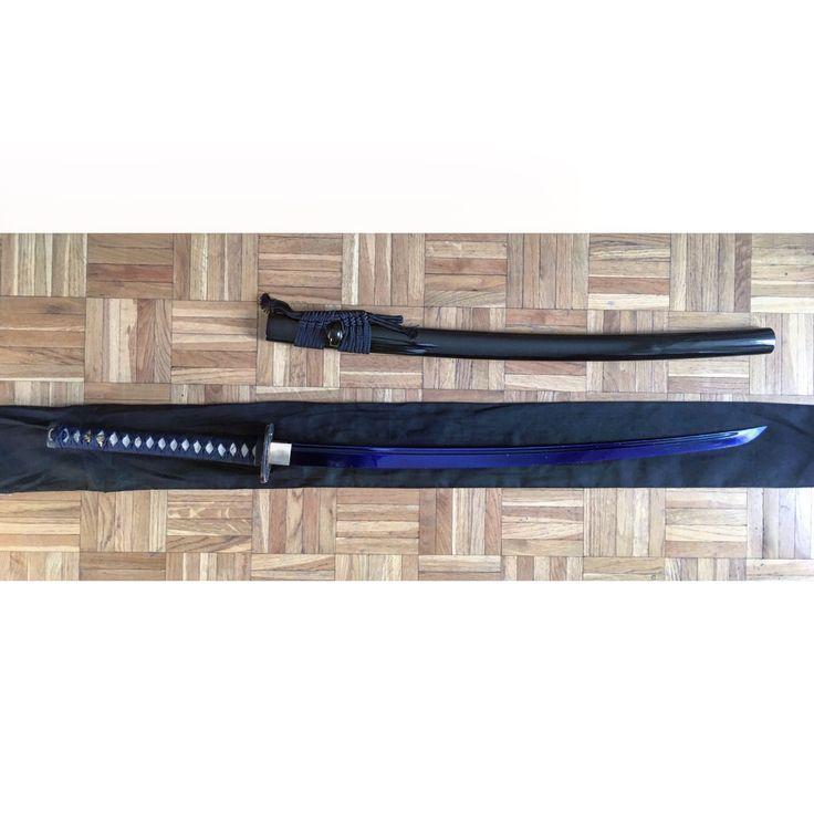 Katana Blue Blade #katana #samurai #ninja #blueblade #blue #blade