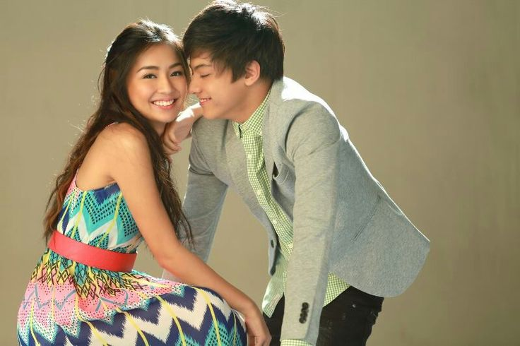 "This is the pretty Kathryn Bernardo and the handsome Daniel Padilla smiling for the camera and posing for the camera for a promotion of their romantic comedy which premiered on ABS-CBN from August 2013 to February 2014, ""Got to Believe."" #KathrynBernardo #DanielPadilla #KathNiel #KathNielBernaDilla #GotToBelieve #G2B"