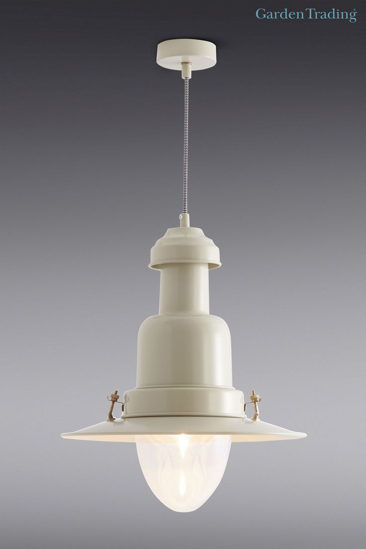 Buy Garden Trading Large Pendant Fishing Light In Clay from the Next UK online shop
