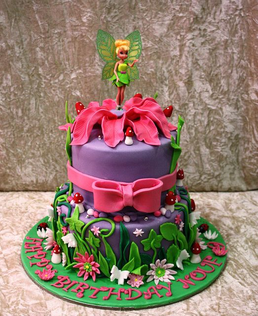 @Brittany Szymanski remeber when we made Ashy's tinkerbell cake? is this where you got it from???
