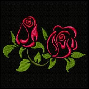 Roses are Red Machine Embroider Design Set