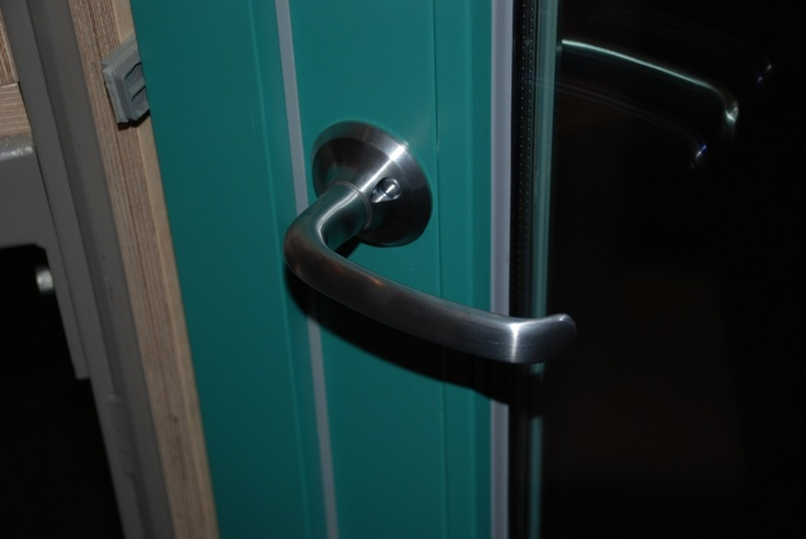 ASSA 6640 door handle for some entrance and balcony door systems