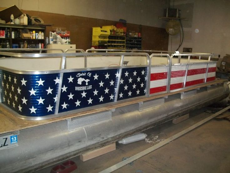 1986 Playbuoy pontoon rebuild Page: 1 - iboats Boating Forums | 477501