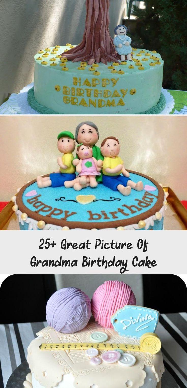 25 great picture of grandma birthday cake cake