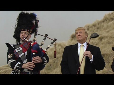 ▶ Fighting Trump - documentary on Donald Trump's Golf Course in Menie, Scotland - YouTube