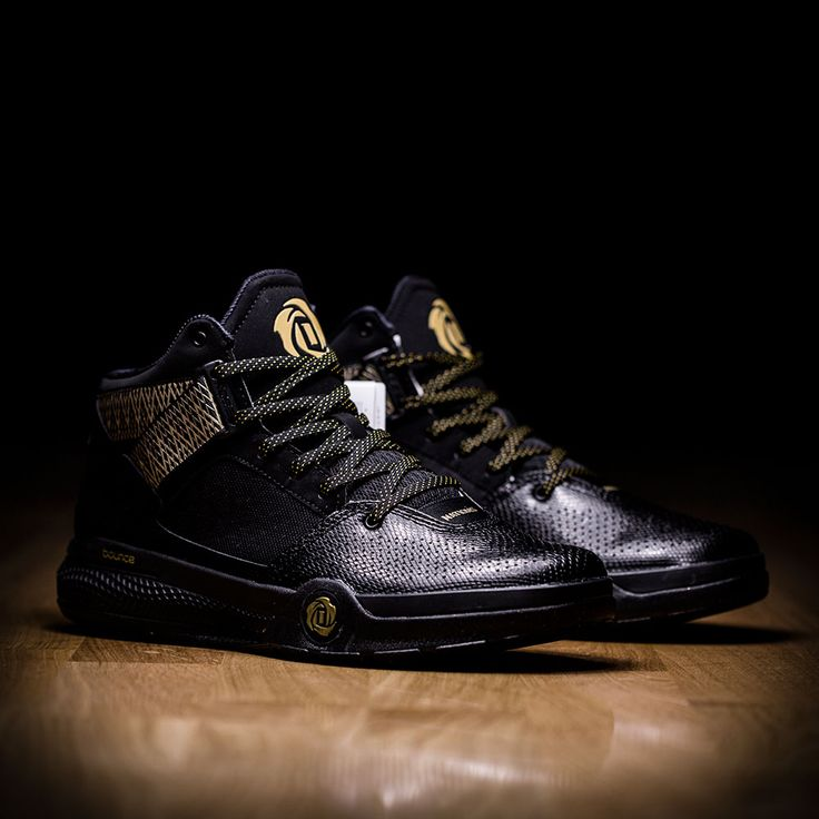 ADIDAS D ROSE 773 IV BLACK GOLD D69592 - Adidas Basketball - Shoes - ATAF