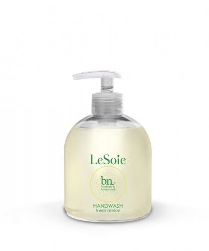 Bonjour & Bonne Nuit Fresh Melon Hand Wash is a soft, cleansing liquid soap for hands and a pleasure to use. Ideal for daily use.
