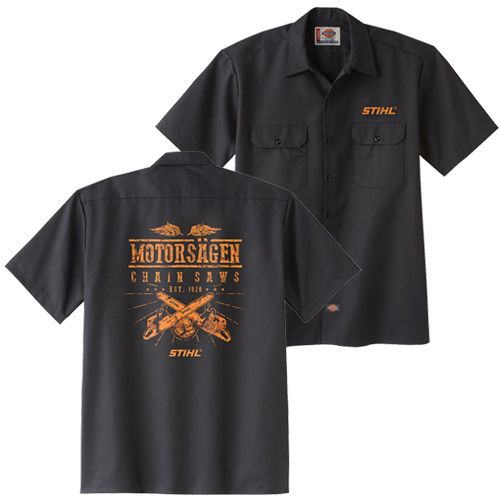 Dickies Stihl Motorsagen Shirt Did You Know That