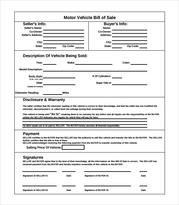 The 25+ best Bill of sale car ideas on Pinterest Bill of sale - blank bill of lading form template