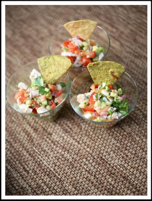 shrimp ceviche | Cuisine for my Kitchen | Pinterest
