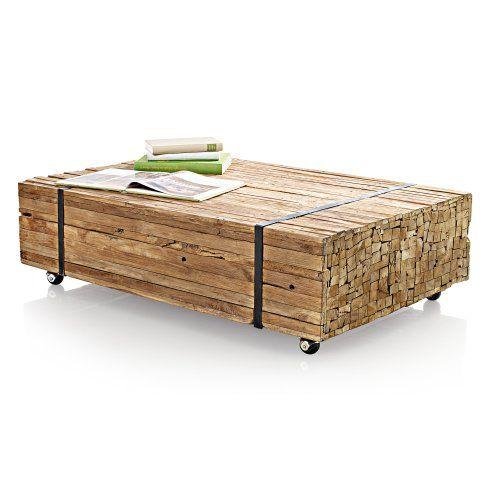 399 00 couchtisch aus rustikal wiederaufbereitetem teakholz jeder ein unikat ca 110 x 70 x. Black Bedroom Furniture Sets. Home Design Ideas