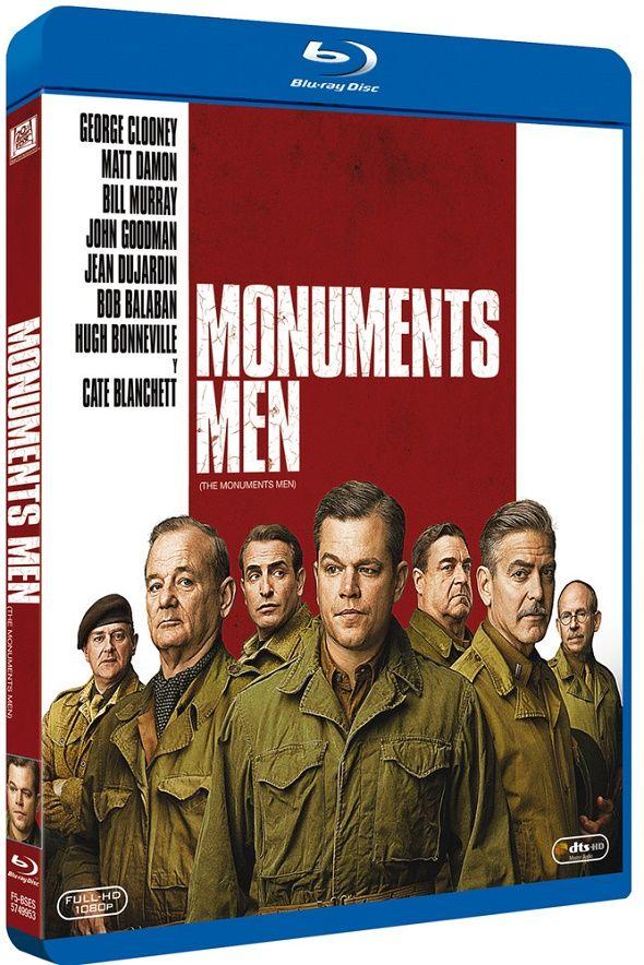 'Monuments Men' disponible en Blu-ray y DVD a partir del 25 de junio. Clooney y su pandilla, protegerán el arte ¡a cualquier precio!