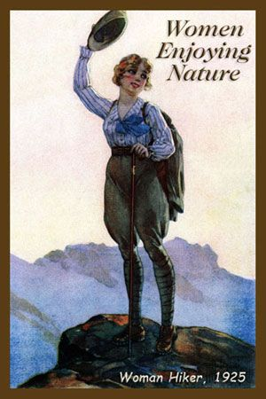112 Best Images About Hiking Women Then And Now On