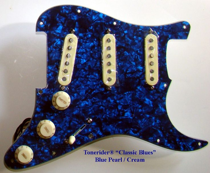 "Tonerider® ""Classic Blues"" Fully Loaded, Wired, and Ready to install"