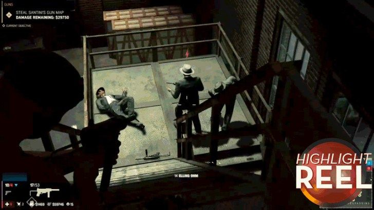 Mafia 3 NPCs Realize Theyre Supposed To Fall Now