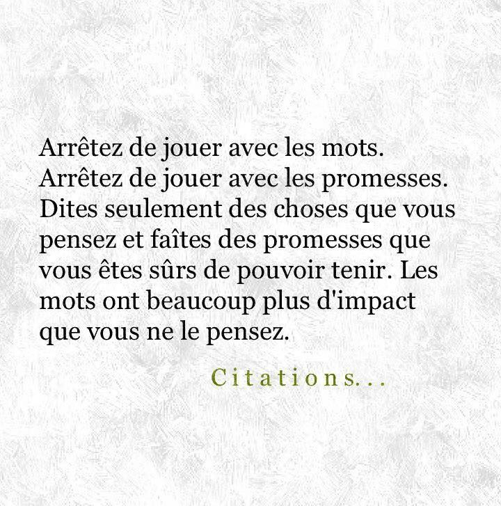 Image Citation Promesse De Jenalisaamar Du Tableau Words Belles