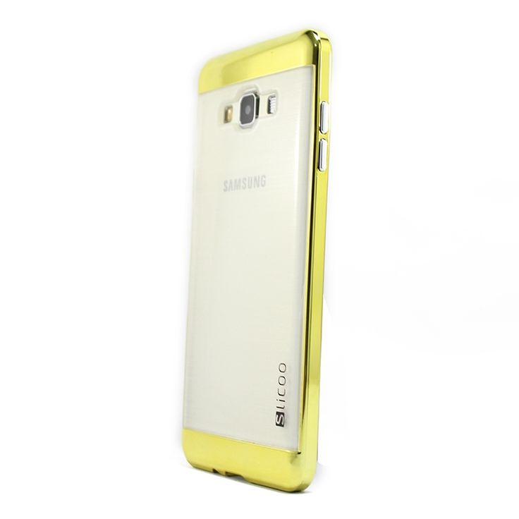 Mobilce | SAM. A7 SLICOO CASE GOLD Mobilce | Cep Telefonu Kılıfı ve Aksesuarları