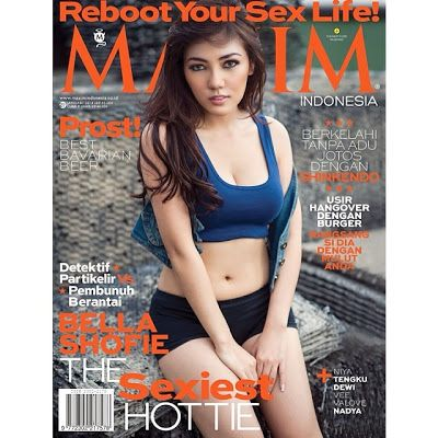 Model Bugil Sexy Hot BB 2014 Pinterest Gallery : Bella Shofie on Cover for Maxim Indonesia January ...