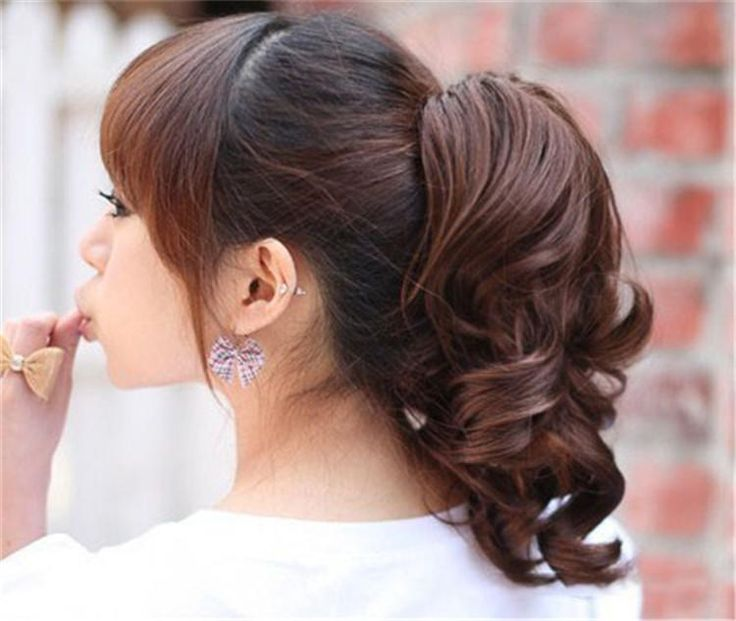 Discount Womens Claw Clip Ponytail Hair Piece Pony Wig Hair Extension Synthetic Medium Curly/Wavy Hair Ponytails Hairpieces Pt25 From China | Dhgate.Com